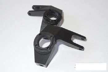 Pro Aluminum Knuckles for SCX10 BLACK FITS & Uses stock mount Hardware SSD00066