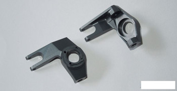 Pro Aluminum Knuckles for SCX10 GREY FITS & Uses stock mount Hardware SSD00070