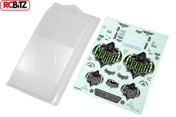 "Axial Wraith Body RTR .40"" CLEAR lexan polycarbonate panels AX04027 Panel Bonnet"