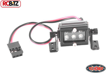 """10th Scale High Performance LED Light Bar SMALL 20mm 0.75"""" Wired Mounted Z-E0052"""
