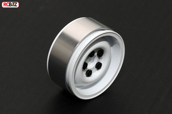 "1.9"" Single Landies Internal Beadlock Spare Wheel White alluminium RC4WD Z-Q0028"