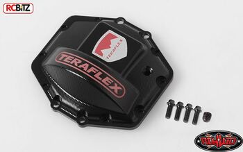 RC4WD Teraflex Diff Cover METAL Axial AR60 Wraith Z-S1678 inc bolts Bomber Yeti