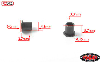 Knuckle Top Hat Shoulder Bushings for Yota II Axle 8 Gelande II G2 RC4WD Z-S1784