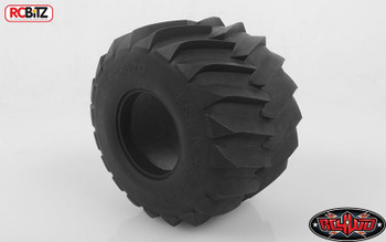 """B&H 2.6"""" Monster Truck Clod Buster Tires inc foams RC4WD Z-T0018 Tamiya Tyre"""