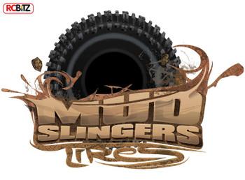 Mud Slingers Clod TXT-1 Tires Pulling Tyre Tamiya Buster Juggernaut 4WD Z-T0084