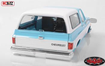 RC4WD Chevrolet Blazer Scale Hard Body Complete Set LIGHT BLUE Z-B0148 K5