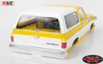 RC4WD COMPLETE Chevrolet Blazer Hard Body Set YELLOW Z-B0152 K5 TF2 MWB