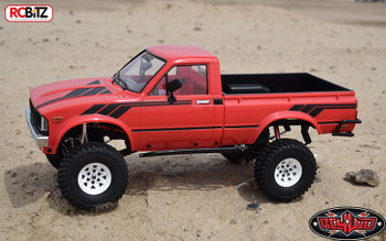 Complete TOY Graphic Decal Sticker TF2 Mojave Hilux Body