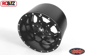 "Huntsman Spider 40 Series 3.8"" Universal Beadlock Wheel Requires Hex RC4WD Z-W0143"
