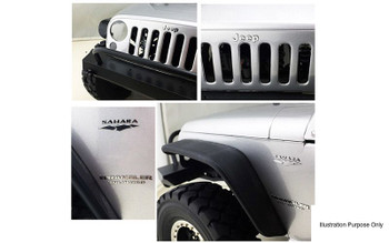 Metalic TOY Emblems Decal Logo Badge Axial SCX10 Jeep Wrangler VVV-C0176 RC4WD