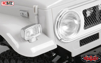 RC4WD Cruiser FJ40 Clear Parts Tree Z-B0077 Front Window Screen Lights rcBits