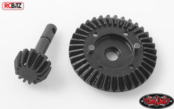 Heavy Duty Bevel Gear Set 36T 14T OVERDRIVE D44 Differential Gears RC4WD Z-G0080