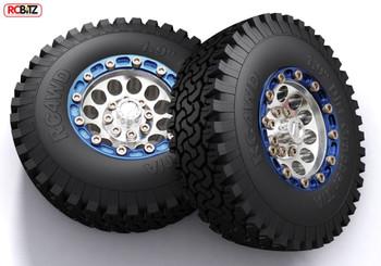 "Dirt Grabber Single 1.9"" All Terrain Tire G2 Gelande II SPARE Tyre RC4WD Z-P0004"