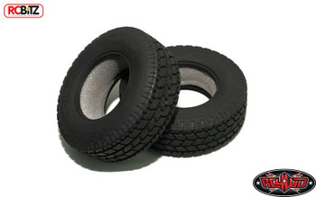 "Roady Super Wide 1.7"" Commercial 1/14 Semi Truck Tires RC4WD Z-T0072 Tamiya 14th"