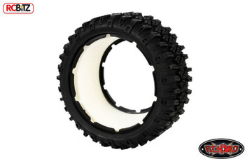 RC4WD Mickey Thompson Baja MTZ tires for HPI Baja & Losi Five-T Z-T0106 inc Foam