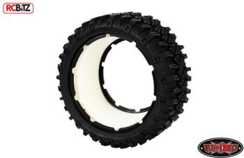 RC4WD Mickey Thompson Baja MTZ tires for HPI Baja & Losi Five-T Z-T0106 inc Foam