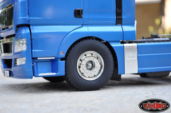 Hauler Super Wide 1.7 Commercial 1/14 Semi Truck Tires Lorry Tyre Tamiya Z-T0071