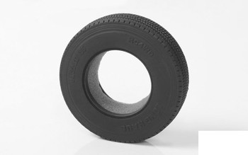 """Long Haul 1.7"""" Commercial 1/14 Semi Truck Tires RC4WD Z-T0026 Hard Tamiya Tyre"""