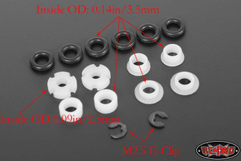 Rebuild Kit Dual Spring Ver 2 Shocks King Off Road O-rings Washers RC4WD Z-S1108