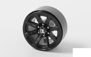"RC4WD Dick Cepek Matrix 1.7"" Beadlock Wheels Z-W0248 6 Lug Black D90 Gelande 2"