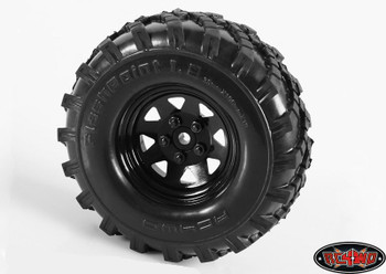 """Flashpoint Military Offroad 1.9"""" Tyres RC4WD & Foams Great in sand mud Z-T0082"""