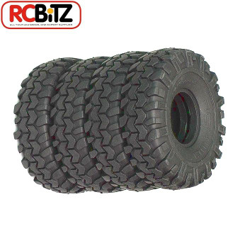 2 Rock Stompers 1.55 Scale Offroad Tires RC4WD GOOD all terraine tyre X3 Compund Z-T0007