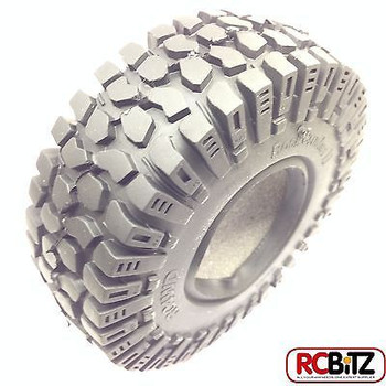 Rock Crusher II X/T 1.9 Scale Tyres RC4WD Truck Tire flat tread RC4WD Z-T0030