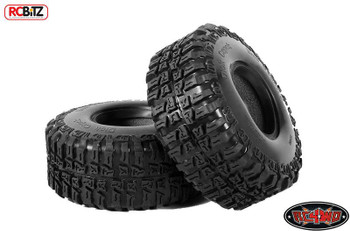 """Dick Cepek 2.2"""" Mud Country Scale Tires WIDE footprint with SCALE looks Z-T0042"""