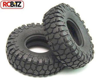 Rock Crusher X/T Tires 1.55 Scale Tyre Square Truck tread X3 comp RC4WD Z-T0053