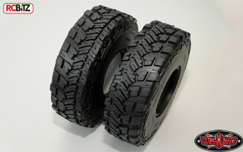 Two Face 2.2 Offroad Scale Tires Tyre RC4WD X3 Super Soft Crawler Comp Z-T0057
