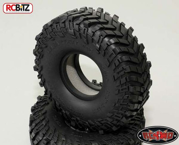 Mickey Thompson 2.2 Baja Claw TTC Scale Tyre (2) RC4WD + Foams Wide Tire Z-T0065