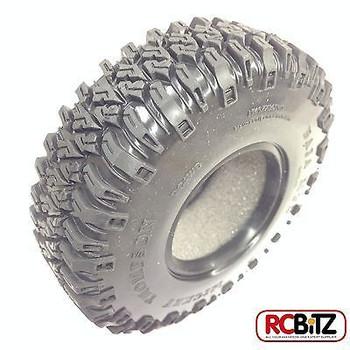 Mickey Thompson 1.9 Baja MTZ Scale Tires Comp Soft Sticky w/ Foams Z-T0061 RC4WD