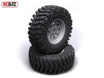 "Prowler XS 1.9"" Scale Tires Aggressive tyre  Tread D90 Mojave TF2 RC4WD Z-T0086"