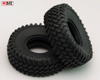 """Mud Thrashers 1.55"""" Scale Tyres RC4WD with Foams tyre Very Scale looking Z-T0100"""