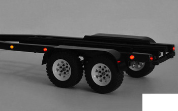 BigDog 1/10 Dual Axle Scale Boat METAL Trailer Z-H0006 Lights RC4WD TOY Ramps RC