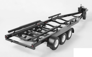 BigDog 1/10 Triple Axle Scale Boat METAL Trailer Z-H0011 Lights RC4WD TOY Ramps