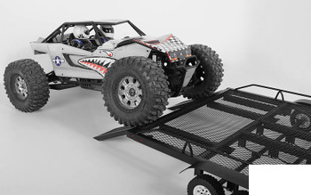 BigDog 1/10 Triple Axle Scale Truck Trailer SUPER WIDE Z-H0013 RC4WD Yeti XL RC