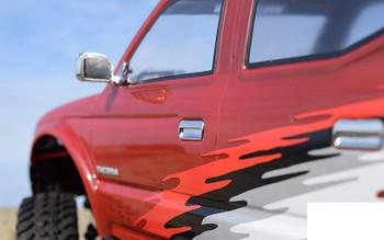 "RC4WD 2001 Toyota Tacoma 4 Door Body TF2 LWB 313mm 12.3"" Z-B0169 Lexan SCX10"