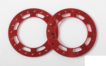 "Replacement Beadlock Rings for TRO 1.7"" Wheels RED Z-S1668 RC4WD Marlin Ring"