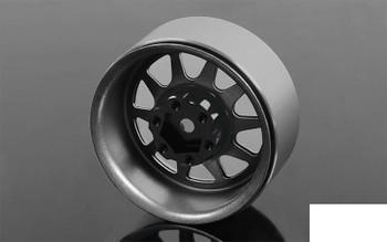 "OEM Stamped Steel 1.9"" SINGLE Beadlock Wheel PLAIN Z-Q0086 RC4WD 12mm Hex"