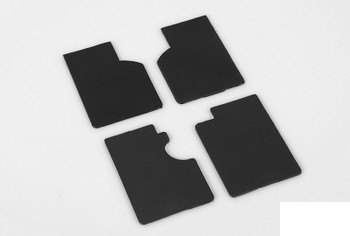 TOY Land Rover Mud Flaps for Gelande II D90 D110 Z-S1888 RC4WD G2 Flap RUBBER