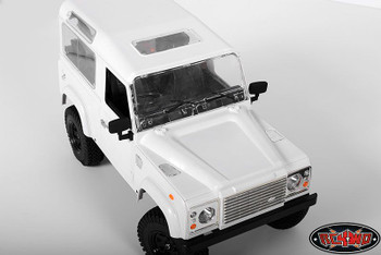 RC4WD Super Scale 1/10 Rubber Mirror Style B w/ Reflector D90 Gande II Z-S0924