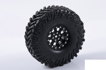"RC4WD Raceline Monster 2.2"" Single Beadlock Wheel BLACK Z-Q0072 Spare RC TOY"