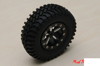 "Mud Thrashers Single 1.9"" Scale Tire Z-P0009 RC4WD Spare Tyre"