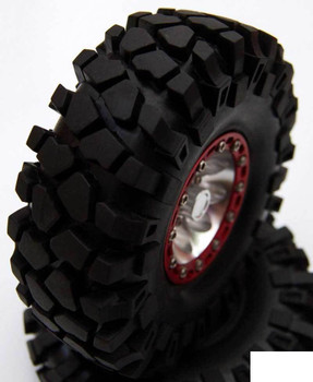 """Rock Crusher X/T Single 2.2"""" Tires Z-P0021 RC4WD Spare Tyre XT"""