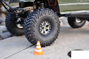 "RC4WD Mickey Thompson 1.55"" Single Baja Claw TTC Scale Tire Z-P0029 Spare Tyre"