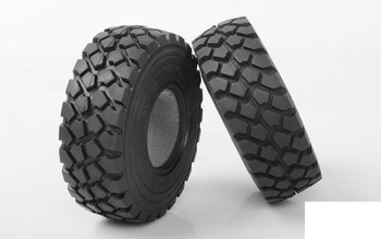"MIL-SPEC ZXL 2.2"" Single Tire Z-P0041 RC4WD Spare Tyre Military MIL SPEC"
