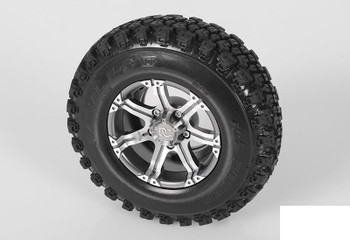 "RC4WD Dick Cepek FC-II 1.9"" Single Scale Tire Z-P0048 Spare Tyre"