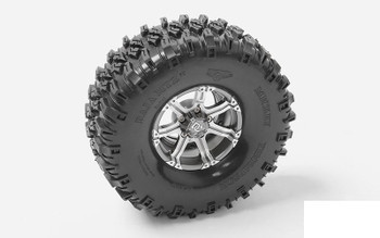 "RC4WD Mickey Thompson 1.9"" Single Baja MTZ P3 4.6"" Scale Tire Z-P0051 Spare Tyre"