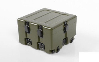 1/10 Military Storage Box Z-X0049 RC4WD ARMY GREEN ABS working latches 1.9""